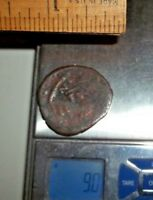 ANCIENT AE COINS FOLLIS DIAMETERS:1 INCH 9 GRAMS   LOT OF 1X ANCIENT COIN