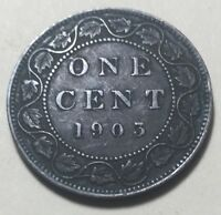 CANADA 1903 LARGE ONE CENT COIN   KING EDWARD VII