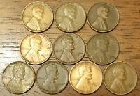 LINCOLN WHEAT CENT PENNY  LOWER GRADE