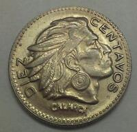 COLOMBIA  10 CENTS 1956 AUNC