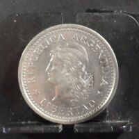CIRCULATED 1957 1 PESO ARGENTINA COIN  51618