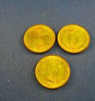 25 SENTIMO PHILLIPINE COIN  1984 LOT OF 3 COINS