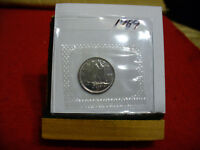 1989 CANADA  DIME  10 CENTS    TOP GRADE  89  PROOF LIKE  SEALED  SEE PHOTOS