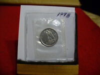 1978 CANADA  DIME  10 CENTS    TOP GRADE  78  PROOF LIKE  SEALED  SEE PHOTOS