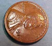 1923-P LINCOLN CENT SHARPER GEM CIRCULATED SADDLE LEATHER COLOR MAKE AN OFFER
