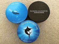 FIJI GILDED TAKU/TURTLE SWORDFISH ALLIGATOR   SET OF 1 OZ SILVER PROOF COINS