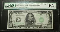 Click now to see the BUY IT NOW Price! 1934 A $1000 ONE THOUSAND DOLLAR FEDERAL RESERVE NOTE PMG CU 64 EPQ   FR2212 G