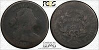Click now to see the BUY IT NOW Price! 1804 DRAPED BUST COPPER LARGE CENT PCGS G 04