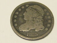 1835 CAPPED BUST DIME GOOD