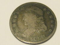 1829 CAPPED BUST HALF DIME FINE
