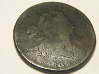 1798 DRAPED BUST LARGE CENT 220 YEARS OLD