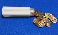 1957 D LINCOLN WHEAT CENT ROLL   RED GEM BU BLAZERS       50 COINS