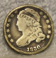 1830 CAPPED BUST DIMES