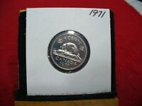 1971  CANADA  1  NICKEL 5 CENTS  COIN  PROOF LIKE SEALED  71    HIGH  GRADE