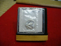 1963 CANADA SILVER DIME  10 CENTS TOP GRADE  63  PROOFLIKE  SEALED  SEE PHOTOS