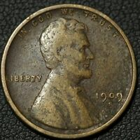 1909 S LINCOLN WHEAT CENT PENNY   ENVIRONMENTAL DAMAGE