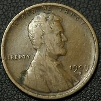 1909 S LINCOLN WHEAT CENT PENNY   OBVERSE SCRAPES