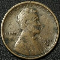 1909 S LINCOLN WHEAT CENT PENNY   DAMAGE