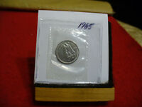 1985 CANADA  DIME  10 CENTS    TOP GRADE  85  PROOF LIKE  SEALED  SEE PHOTOS