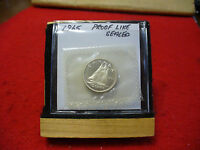 1965 CANADA SILVER DIME  10 CENTS TOP GRADE  65  PROOF LIKE  SEALED  SEE PHOTOS