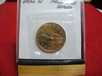 2000W  CANADA  DOLLAR  COIN  LOONIE TOP GRADE  SE PHOTOS  00W  PROOFLIKE  SEALED