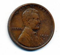 1915-S CIRCULATED GOOD   GOOD LINCOLN CENT