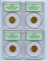 1917-1918-1920-1926-PCGS-LINCOLN-CENTS-LOT-EARLY-GENERATION-AUTHENTICATED