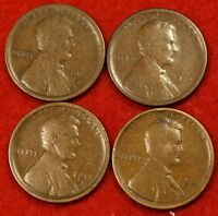1916-S 1917-S 1918-S 1919-S ALL FOUR COINS FOR ONE PRICE HARD TO FIND LW1485