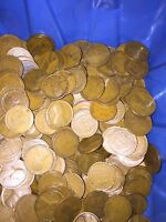 WHEAT CENTS 1916-1919 10 ROLLS 500 COINS2