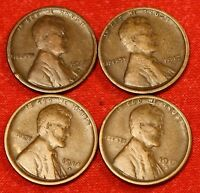 1916-S 1917-S 1918-S 1919-S ALL FOUR COINS FOR ONE PRICE HARD TO FIND LW766
