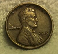 1916S  LINCOLN PENNY
