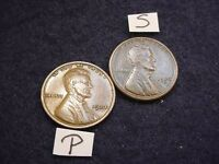 1923-P/S 2 LINCOLN CENTS GREAT EXTRA FINE COINS  10