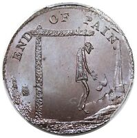 1790S  GREAT BRITAIN HALFPENNY TOKEN