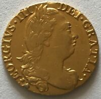 1774 KING GEORGE III 3RD FULL 22CT GOLD GUINEA COIN BRITISH