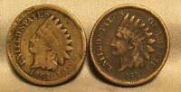 1860 1862 INDIAN HEAD CENT LOT