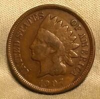 1907 INDIAN HEAD CENT SNOW 9
