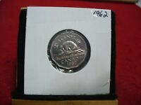 1962  CANADA  1  NICKEL 5 CENTS  COIN  PROOF LIKE SEALED  62    HIGH  GRADE