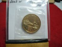 2003W   CANADA  DOLLAR  COIN  LOONIE TOP GRADE  SEE PHOTOS    PROOF LIKE  SEALED