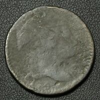 1794 HEAD OF '94 LIBERTY CAP FLOWING HAIR LARGE CENT   CORROSION & REV DAMAGE