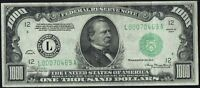 1934 $1000 ONE THOUSAND DOLLAR SAN FRANCISCO FEDERAL RESERVE NOTE   FR2211L