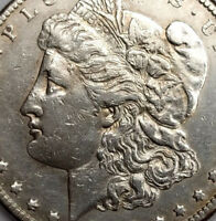 1889 CC RARE CARSON CITY MINT SILVER MORGAN DOLLAR  GREAT DE