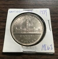 1939 CANADA  SILVER DOLLAR COIN WOW   MUST SEE   0.99C NR WO
