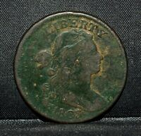 1803 LARGE CENT  VF  FINE DETAIL  1C DRAPED BUST  NOW  TRUSTED