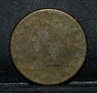 1812 CLASSIC HEAD LARGE CENT  VG GOOD FINE DETAILS  1C  NOW COIN TRUSTED