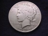 1934-S PEACE DOLLAR  KEY DATE DOLLAR COIN   700
