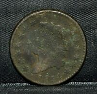1814 CLASSIC HEAD LARGE CENT  VG  GOOD DETAILS  1C  NOW B2 TRUSTED
