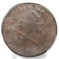 1793 S-4 R-3 PCGS VG DETAILS PERIODS CHAIN LARGE CENT COIN 1C