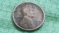 1912-S SAN FRANCISCO MINT COPPER LINCOLN WHEAT CENT BETTER DATE,  A446