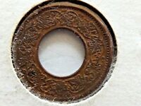 1945 INDIA ONE 1 PICE COIN BOMBAY MINT ROUND CROWN