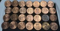 LOT OF 28 LINCOLN CENTS  1998 2006  DDR'S  MEMORIAL ERRORS